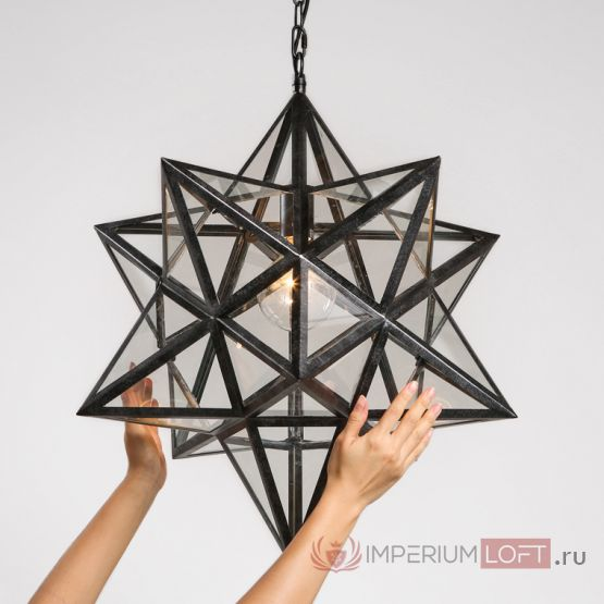 Люстра Black Star Clear Glass