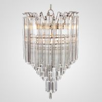 Люстра Odeon Chandelier Glass Clear