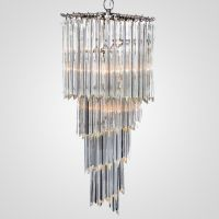 Люстра Odeon Chandelier Helix Clear 42