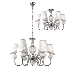 Люстра Crystal Lux ALMA WHITE SP-PL6