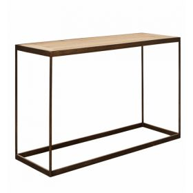 Консоль Industrial Oak Console Table