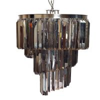 Люстра Odeon Chandelier Helix Smoke 50