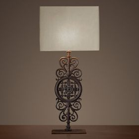 Настольная лампа RH Parisian Iron Gate Table Lamp