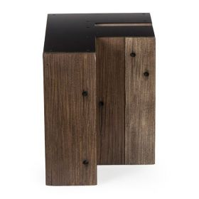 Столик Wooden Alphabet F Side Table designed by Martin Waller