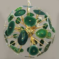 Люстра Agate Burst Chandelier Green