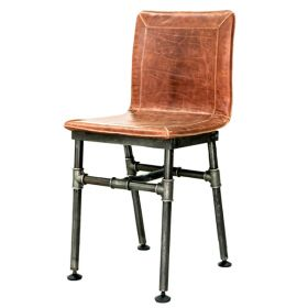 Барный стул Iron Loft Bar stool brown
