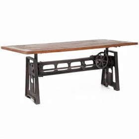 Стол GARIBALDI Dining Table Industrial