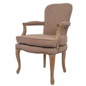 Стул French chairs Provence Corsica Grey ArmChair