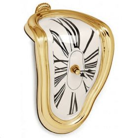 Часы Salvador Dali Soft Clock Gold