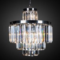 Люстра RH 1920s Odeon Clear Chandelier 50/4