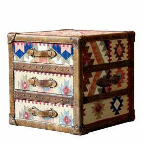 Сундук Kilim Cube Chest designed by Martin Waller