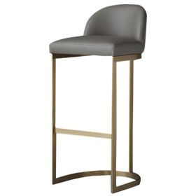 Барный стул Barrel Back Counter Stool Taupe