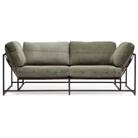Двухместный диван Olive Military Two Seat Sofa designed by Stephen Kenn and Simon Miller in 2014