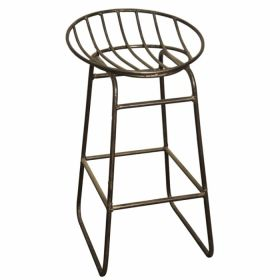 Барный стул Industrial Iron Grille Bar Stool