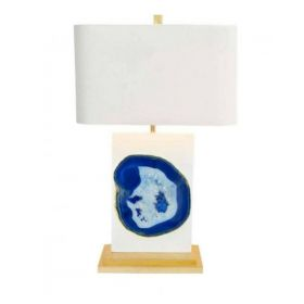 Настольная лампа Bel Air Table Lamp in Blue Agate
