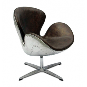 Кресло Spitfire Swan Chair Aviator designed by Arne Jacobsen		 in 1958