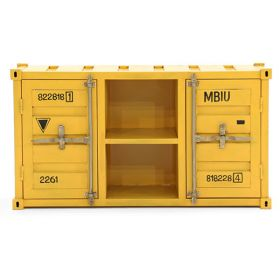 ТВ тумба Loft TV container yellow