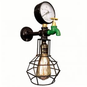Бра Wall Lamp Manometer and Green water tap