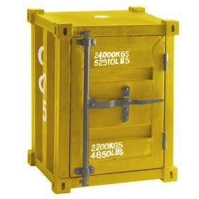 Тумбочка CARLINGUE Sea Container yellow