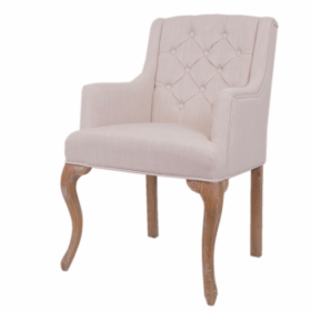 Стул French chairs Provence Amelia Beige ArmChair