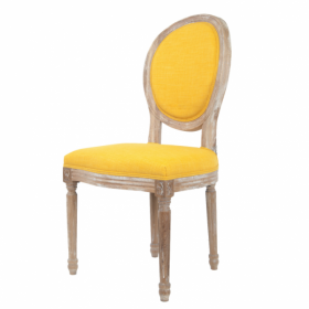 Стул French chairs Provence Yellow Chair