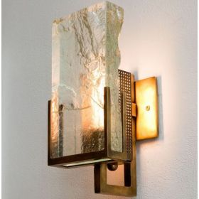Бра Lianne Gold Glass Sconce
