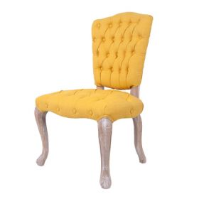 Стул French chairs Provence Gara Yellow Chair