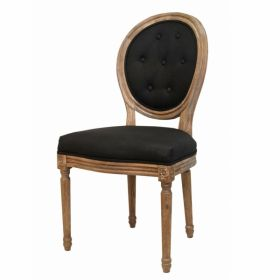 Стул French chairs Provence Black Chair