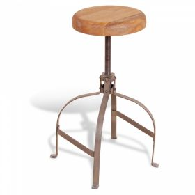 Барный стул Industrial Metal Rust Screw Bar Stool