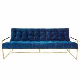 Софа Navy Velvet Apartment Sofa designed by Jonathan Adler