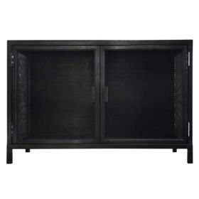 Буфет Industrial Loft Dark Metal 2 Door Beto Cabinet