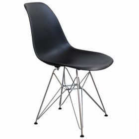 Стул Eames DSR Черный designed by Charles and Ray Eames		 in 1948
