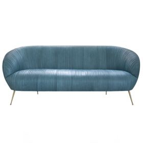Софа Kelly Wearstler Souffle Settee Leather designed by Kelly Wearstler