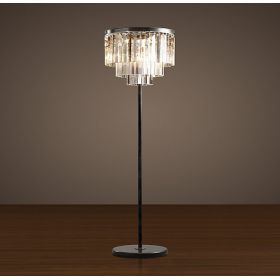 Торшер RH 1920S Odeon Clear Glass Floor Lamp