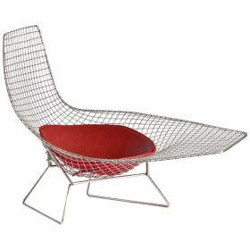 Кресло Asymmetric Chaise designed by Harry Bertoia		 in 1952