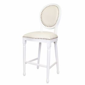 Стул French chairs Provence Bar White Chair