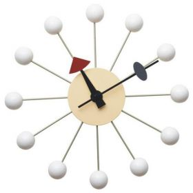 Часы George Nelson Ball Clock White