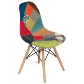 Стул Eames DSW Patchwork II designed by Charles and Ray Eames