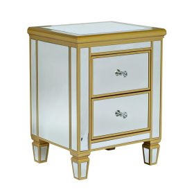 Комод Mirrored Commode 2 drawers