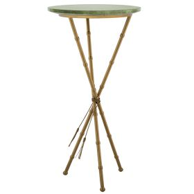 Green Stingray Skin Side Tables