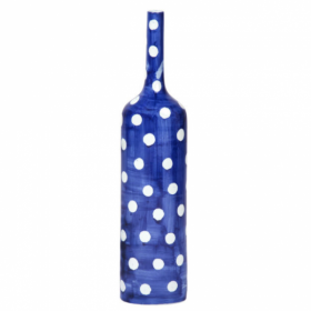Ваза-бутылка blue & white ornament Point Bottle
