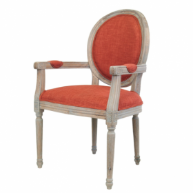 Стул French chairs Provence Orange ArmChair