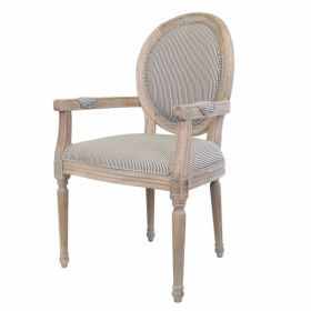 Стул French chairs Provence Strip ArmChair
