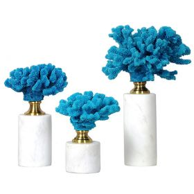 Статуэтка Coral Decor Stat blue