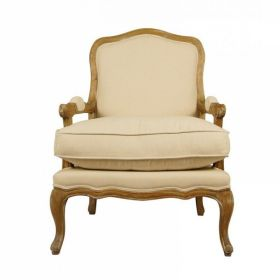 Кресло French Provence ArmChair Shebbi Light