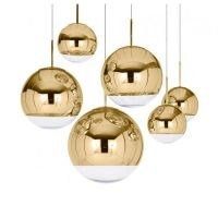 Подвесной светильник Mirror Ball Gold designed by Tom Dixon in 2003