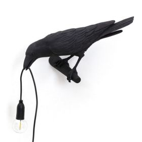 Бра Seletti Bird Lamp Black Looking