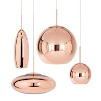 Люстра Tom Dixon Copper Wide Pendant Lamp