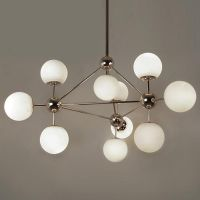 Люстра Modo Chandelier White Glass