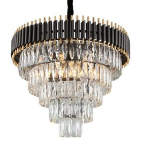 Empire Black Chandelier Crystal D 66